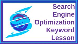 Search Engine Optimization Keyword Lesson