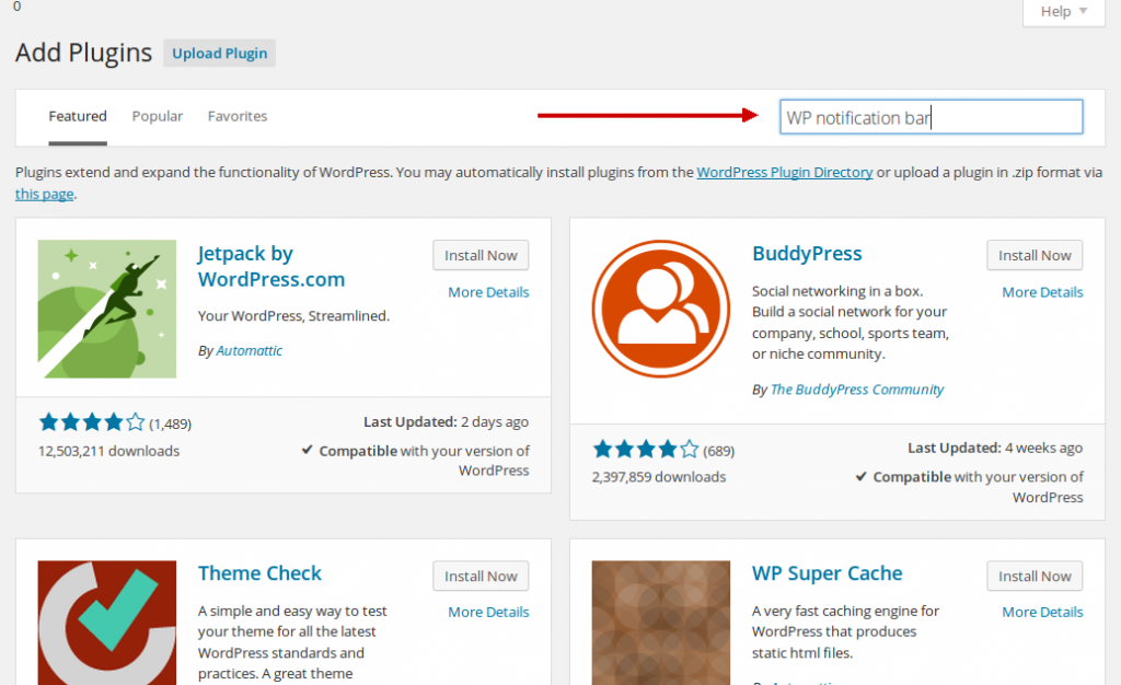 Wordpress plugin les voor beginners