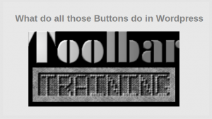 WordPress Toolbar Training
