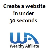 Create a website in under 30 seconds