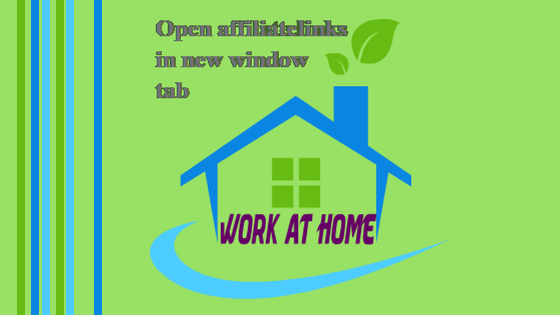 Open affiliatelink in new tab window