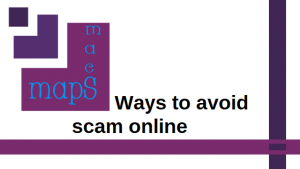 ways to avoid scam online