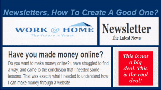 Newsletter, how to create a good one
