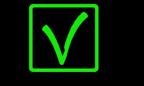 V 1 green box