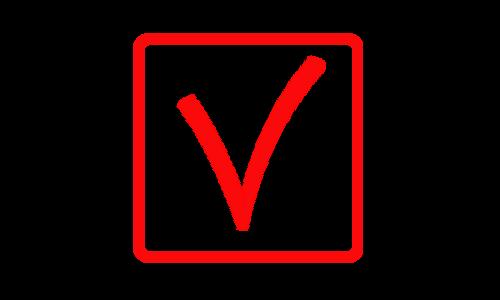 V 1 red box