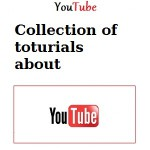 Collection Youtube tutorials