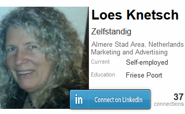 Contact Loes on linkedin