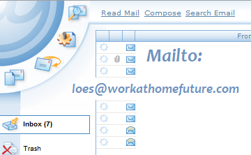 Contact Loes from Work at Home Future by email