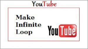 Youtube make infinite loop