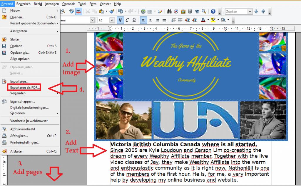 Convert word document pdf file