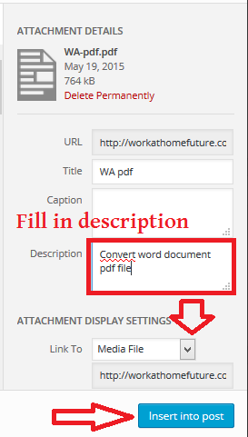 Convert word document pdf file