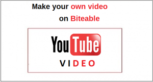 YouTube Make your own video on biteable