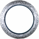 silver-circle-matted
