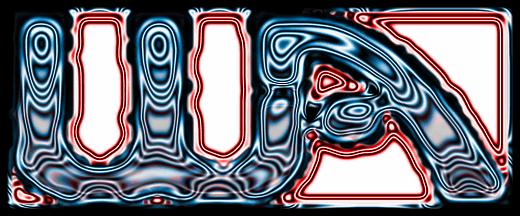 transparent logo effect