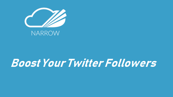 Boost your twitter followers