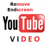 Remove endscreen youtube