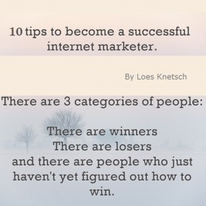 10 tips to become a successful internet marketer