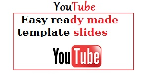 easy ready made template slides