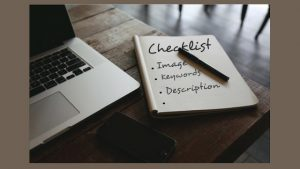 Checklist before you publish a blog post