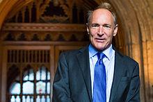 Sir Tim Berners-Lee, inventor of the internet