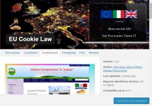 New EU cookies law