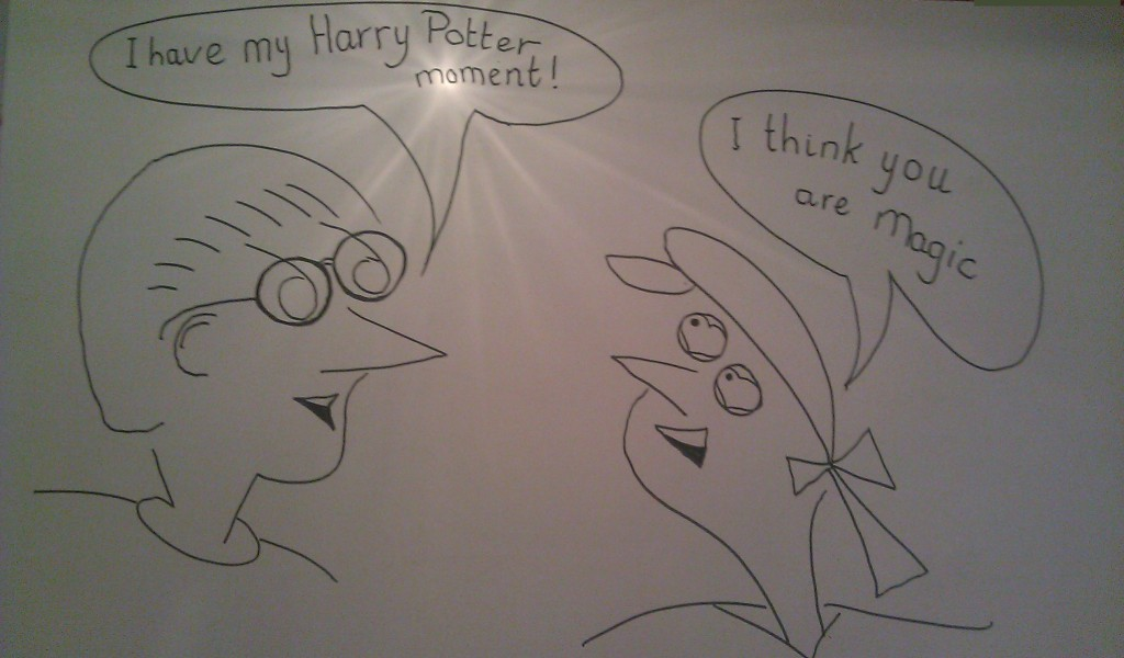 How to draw cartoon characters Harry Potter