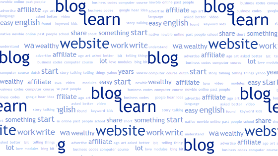 How can I learn to blog