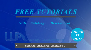 Wealthy Affiliate Free Tutorials