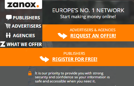 Zanox, Europe's no.1 netwerk