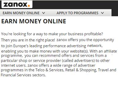Zanox, Europe's no. 1 netwerk