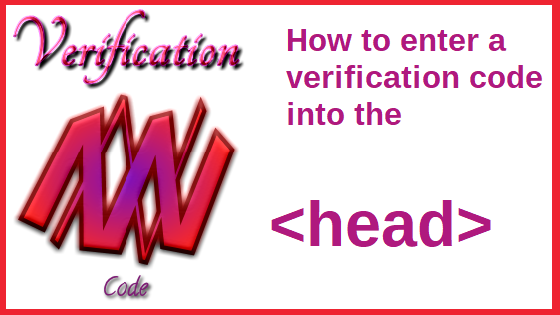 how to enter a verification code into head