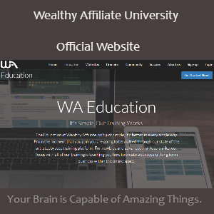 Wealthy affiliate official website