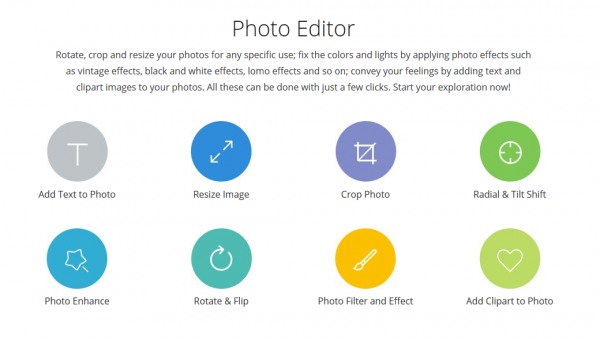 Fotojet photo editor