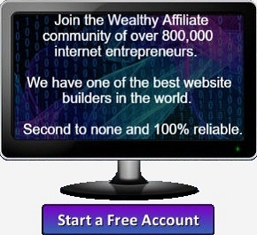 Start your free account at Wealthy Affiliate