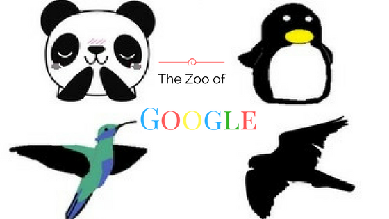 The Zoo of Google, Panda, Penguin, Hummingbird, Hawk