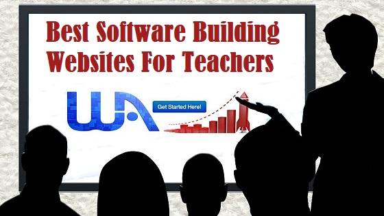 Best Software Building Websites For Teachers