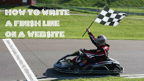 finish line website, final line blog