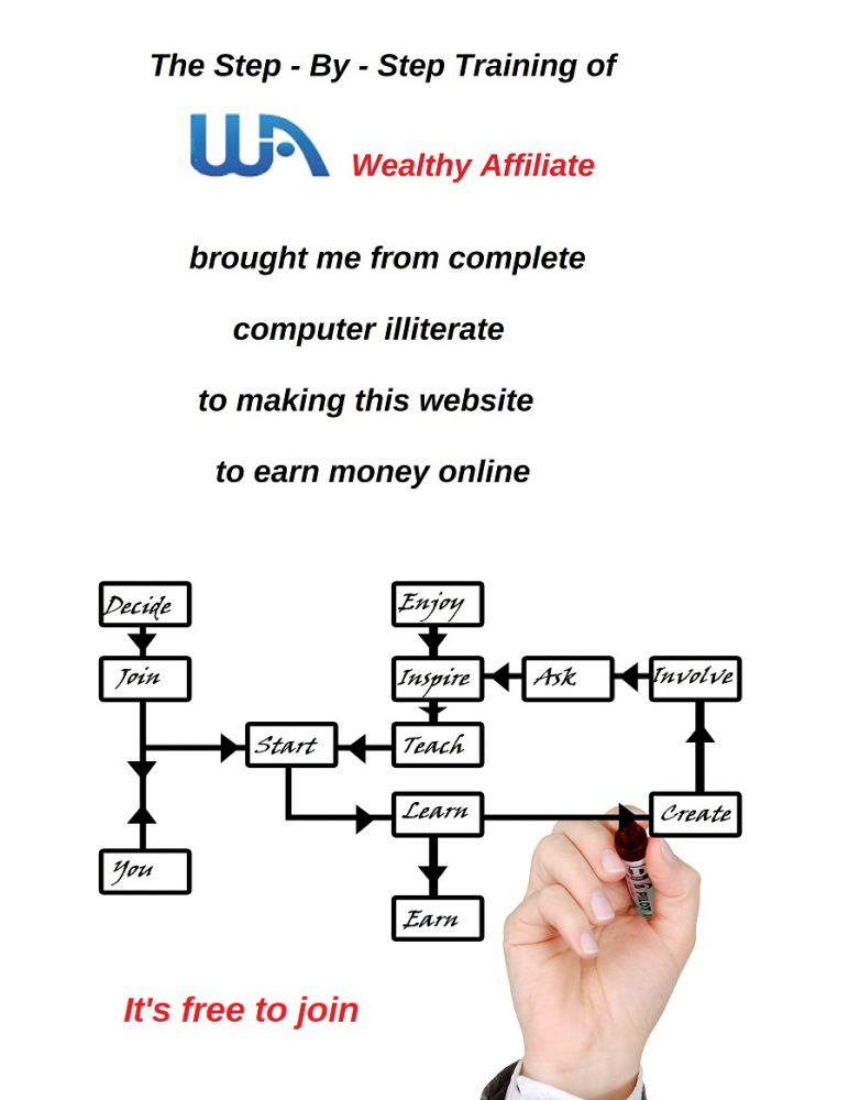 step by step training Wealthy Affiliate