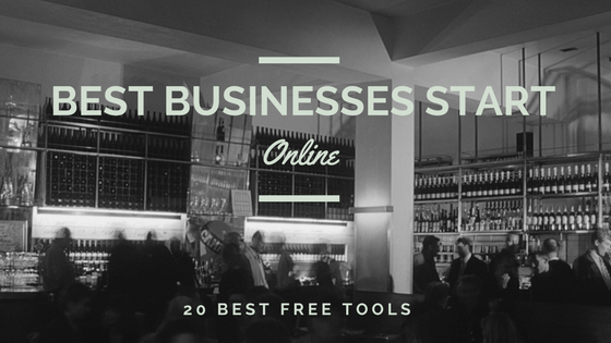 Best businesses start online