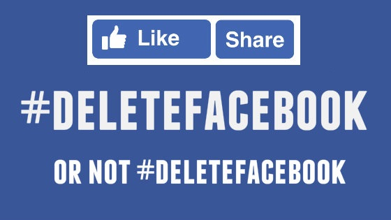 Delete facebook or not delete facebook