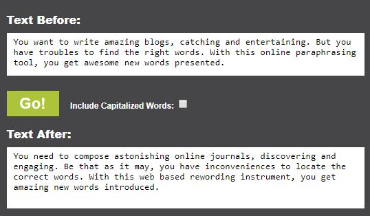 paraphrasing_tool