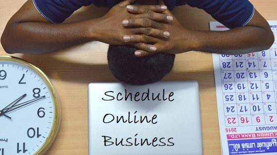 schedule online business