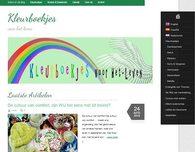 kleurboekjes.com Kleurboekjes voor het leven, coloring life