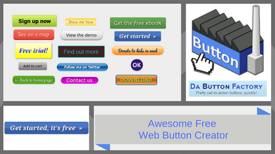 Awesome Free Web Button Creator