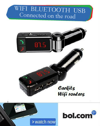 Partiot Bluetooth handsfree carkit and wifi routers