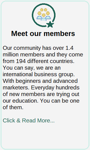 Wealthy Affiliate meet our members
