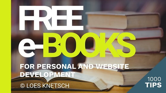 Free ebooks for personal and website development