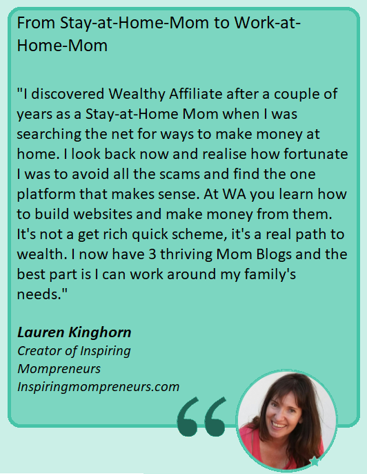Lauren Kinghorn - Visionary Digital Entrepreneur Mompreneur | Content Creator | Affiliate Marketer | Social Media Influencer