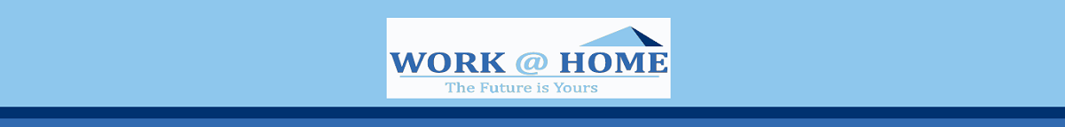 logo workathomefuture, making email newsletter