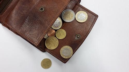 wallet poor people